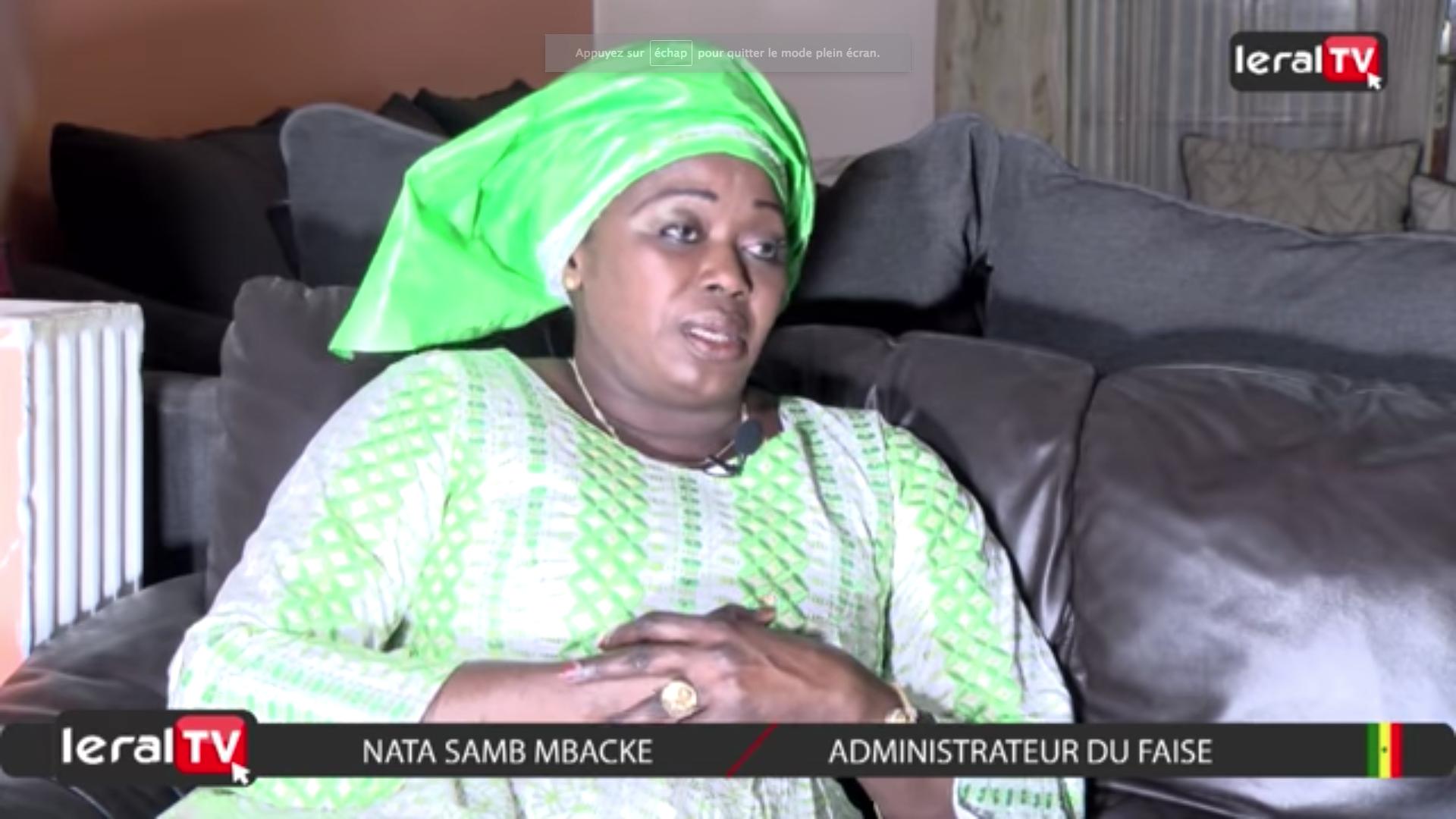 """VIDEO - Nata Samb Mbacké : """"Avec Macky Sall, le FAISE est passé de 340 millions à 3 milliards 500"""""""