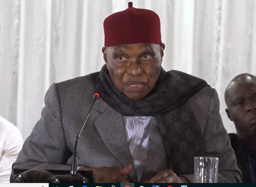 Rencontre à huis-clos avec l'ancien Président  Ce que Wade a dit à la délégation de la Société civile