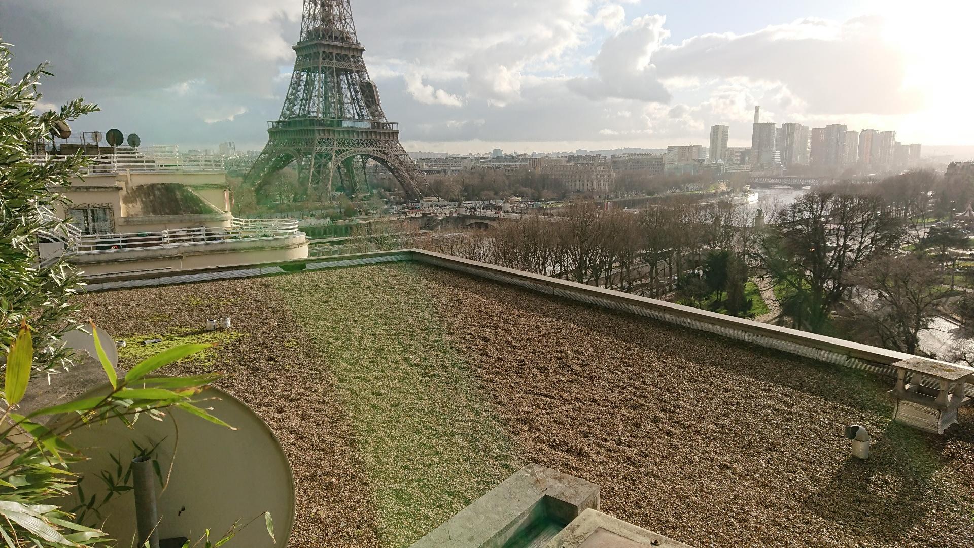 Photo Vu de l'appartement de 7 200 000 euros, et payé 10% par son notaire
