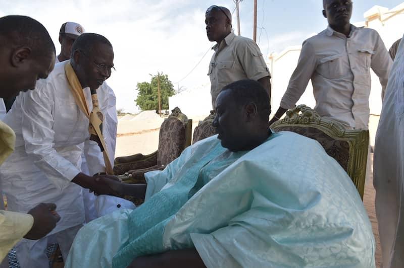Photos : Tournée de  Abdallah Dionne, coordonnateur du pole programme BBY dans le Djolof