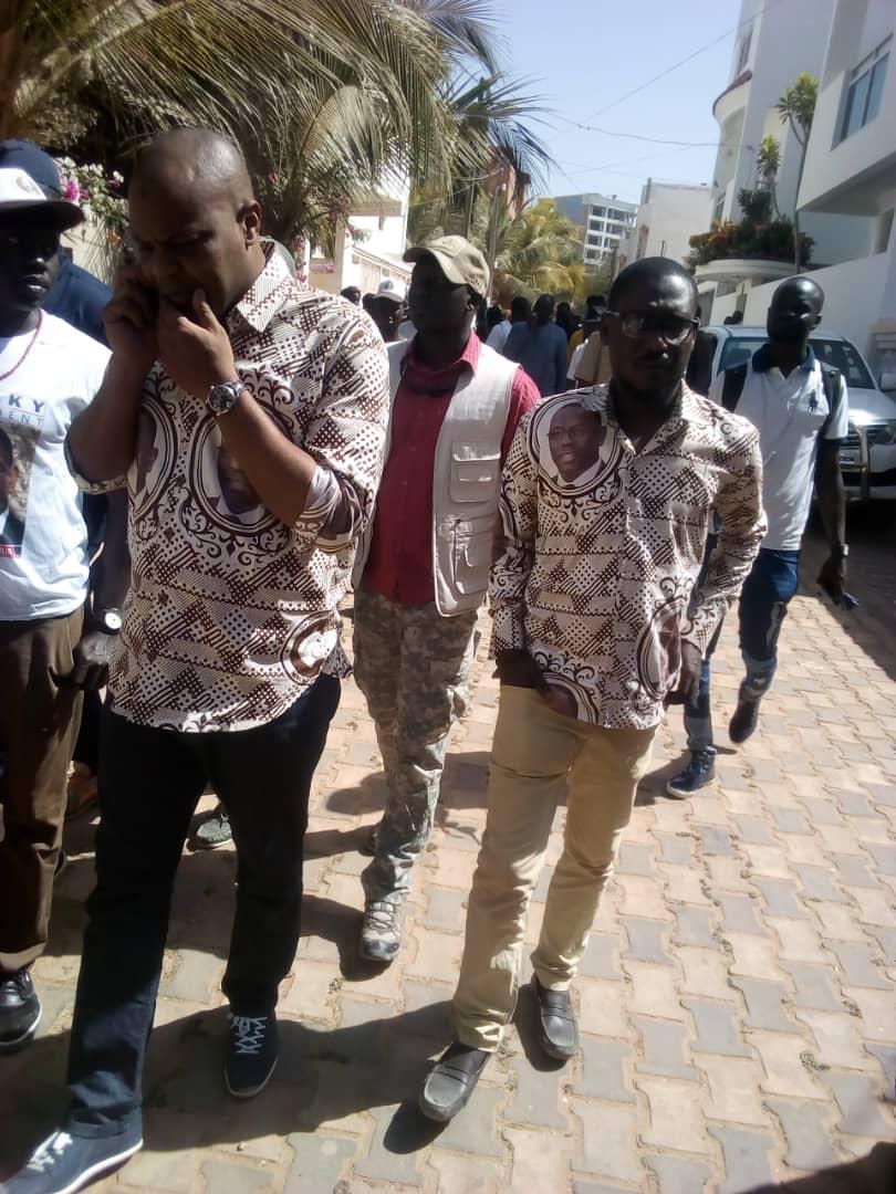 Mame Mbaye Niang et le M.D.R promet une victoire au 1er tour à Macky Sall