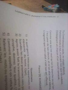 PHOTOS - Lycée Ahoune Sané de Bignona : Ces documents qui ont perdu l'administration