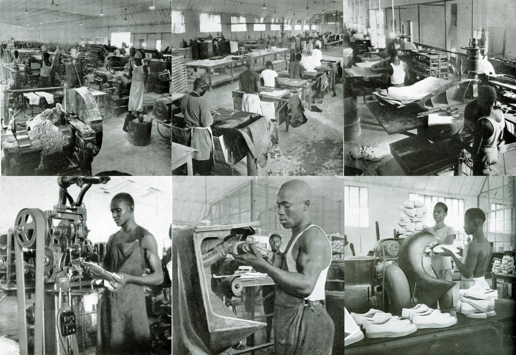 """Carte postale: """"Pas un pas sans...Bata"""", le célèbre slogan d'une des premières insdustries du pays"""