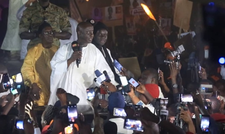 Résultats provisoires : Idrissa Seck domine Touba