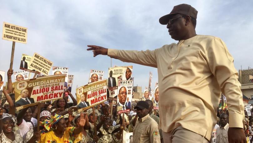 Présidentielle : Le département de Fatick plébiscite Macky Sall