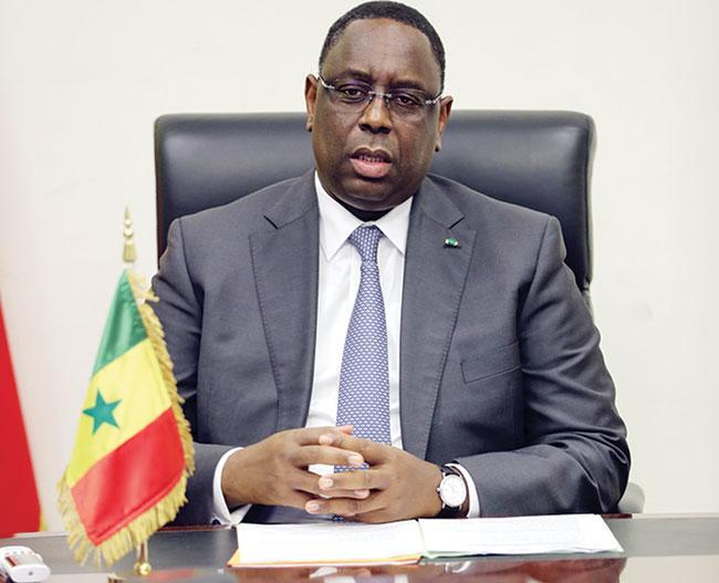 """Macky Sall: """"Je remercie les Sénégalais pour m'avoir...."""""""