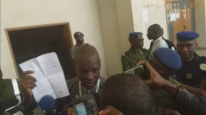 Cheikh Aliou Bèye : « ce scrutin n'est pas sincère et ni transparent »