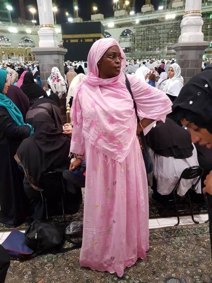 Photos: Marième Faye Sall devant la « Kaaba »