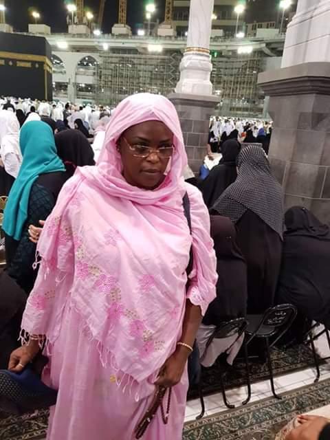 Photos : Marième Faye Sall est à la Mecque, regardez