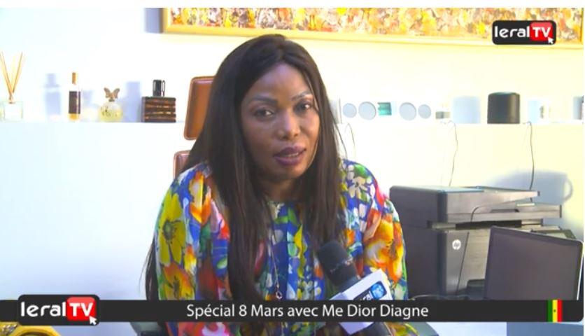 """VIDEO - Me Dior Diagne : """"Le 08 mars est spécial pour moi, car, mon fils Amadou est né ce jour"""""""