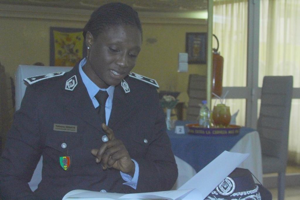 Commissaire Tabara Ndiaye : « il y a un quota fixé dans le recrutement des femmes dans la police »