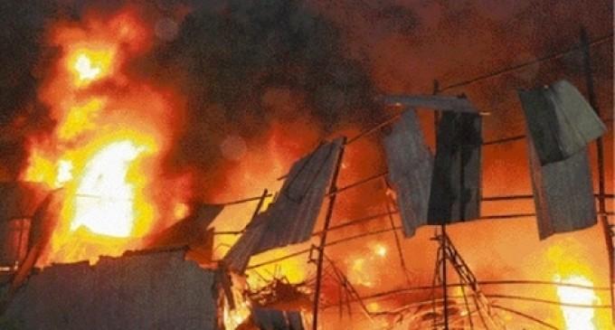 Kaffrine- Incendie au village de Baronne : Près de 20 concessions avec 78 cases calcinés