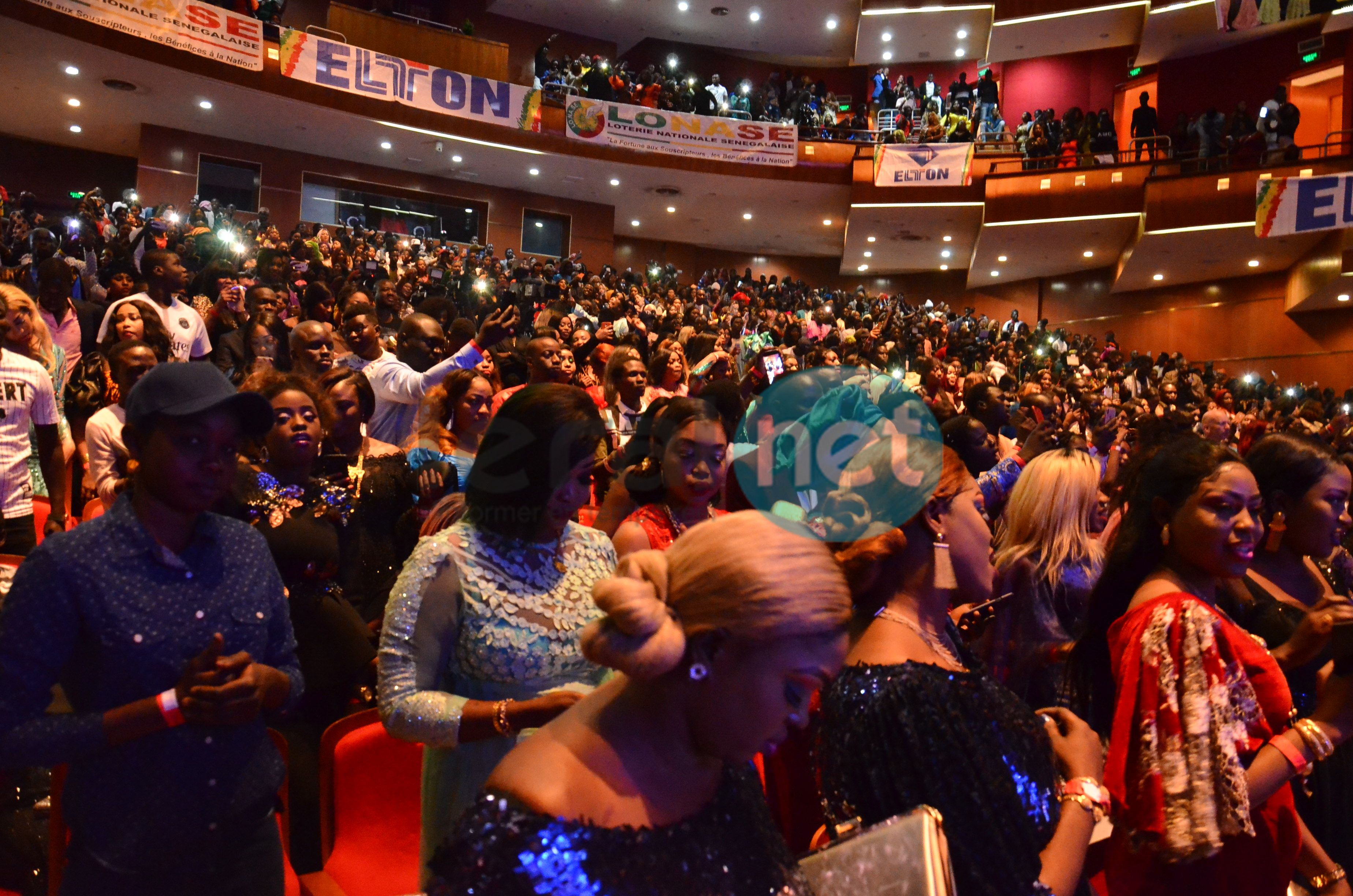 Les images de la soirée Sargal Djiguéne de Wally Seck au Grand Théâtre