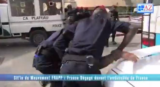 """Dernière minute: Six militants de """"France dégage"""" arrêtés"""