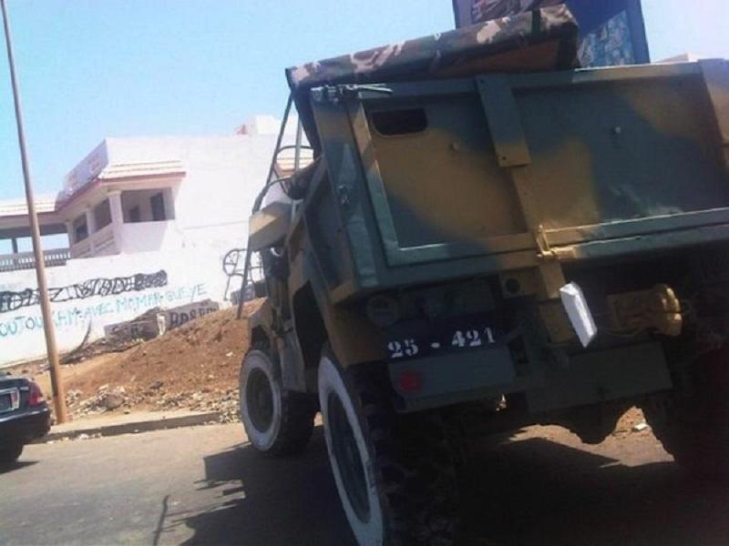 Bakel: Un véhicule de l'armée se renverse et fait plusieurs blessés