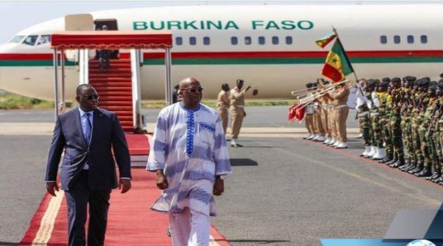 Prestation de serment de Macky Sall : Roch Marc Kaboré, premier chef d'Etat à arriver à Dakar
