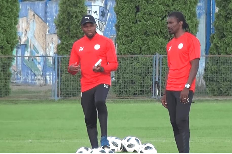 """Polémique dans le staff des """"Lions"""": Aliou Cissé remplace Omar Daf"""
