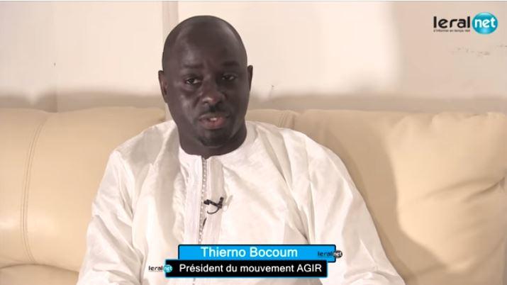 Thierno Bocoum: « Macky Sall avait une belle occasion d'exprimer toute sa motivation d'accomplir son dernier mandat »