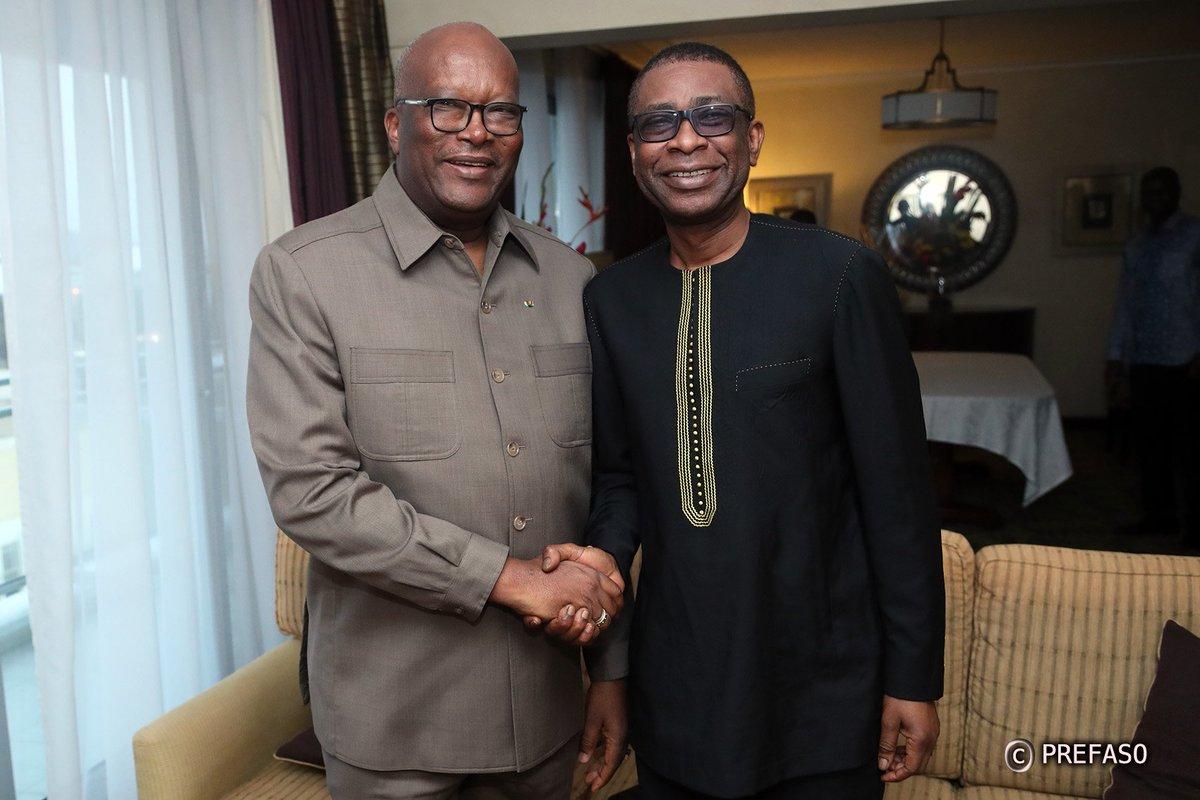 Le chef de l'Etat du Burkina Faso: « J'ai rencontré Youssou Ndour pour le remercier »