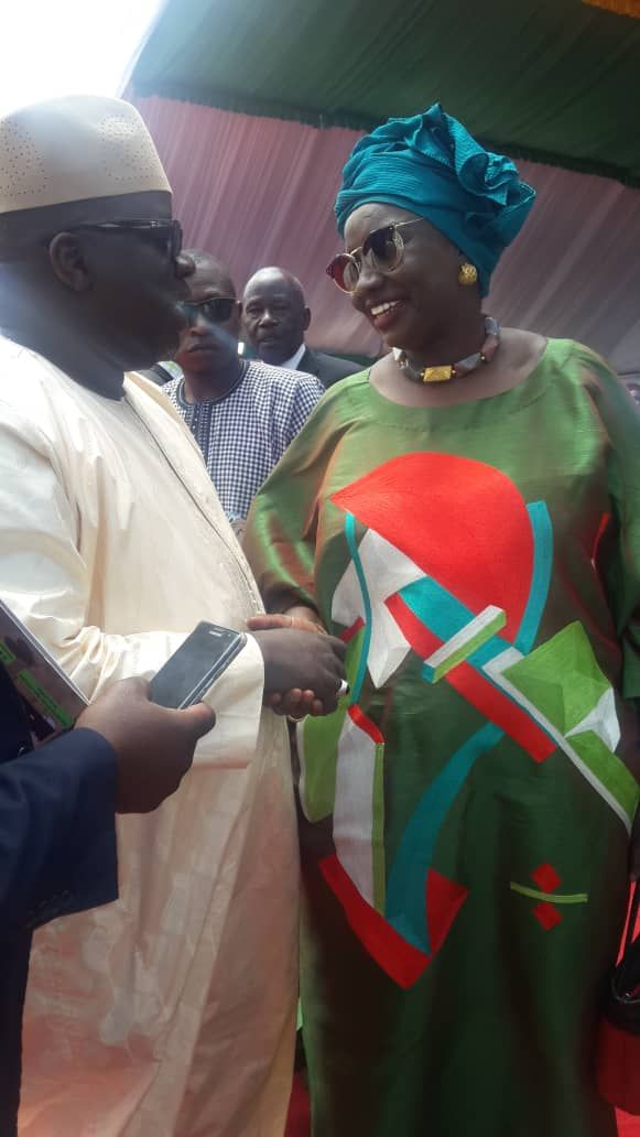 Photos : Ndoye Bane au défilé du 04 avril 2019