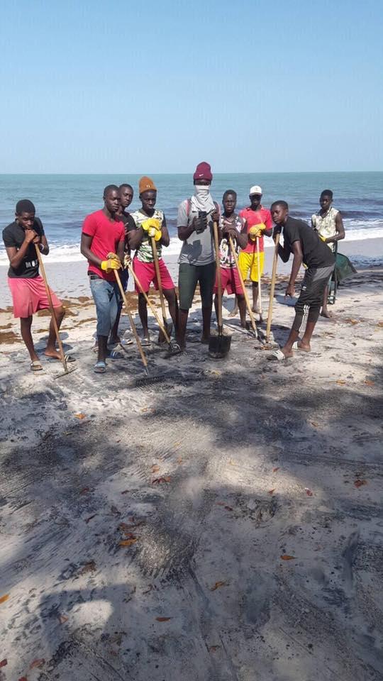 Photos : TrashChallenge, les volontaires de Palmarin nettoient le littoral