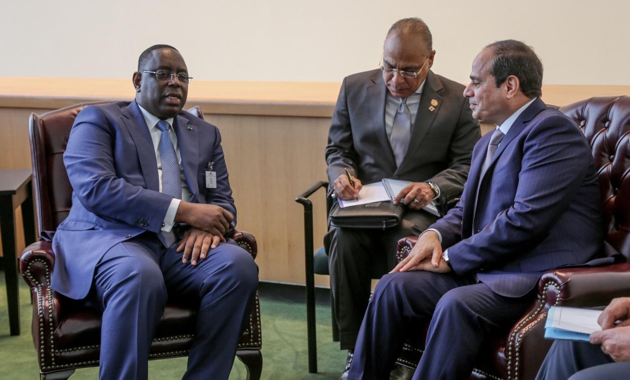 Visite officielle : Macky Sall reçoit le président Égyptien, Al Sisi