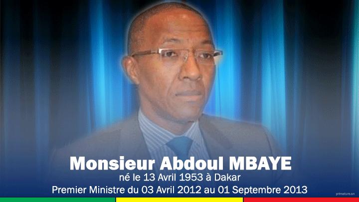 Découvrez en images la liste des premiers ministres du Sénégal