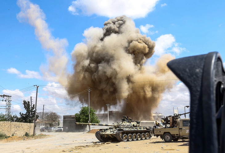 Libye : 121 morts et près de 600 blessés depuis le 4 avril