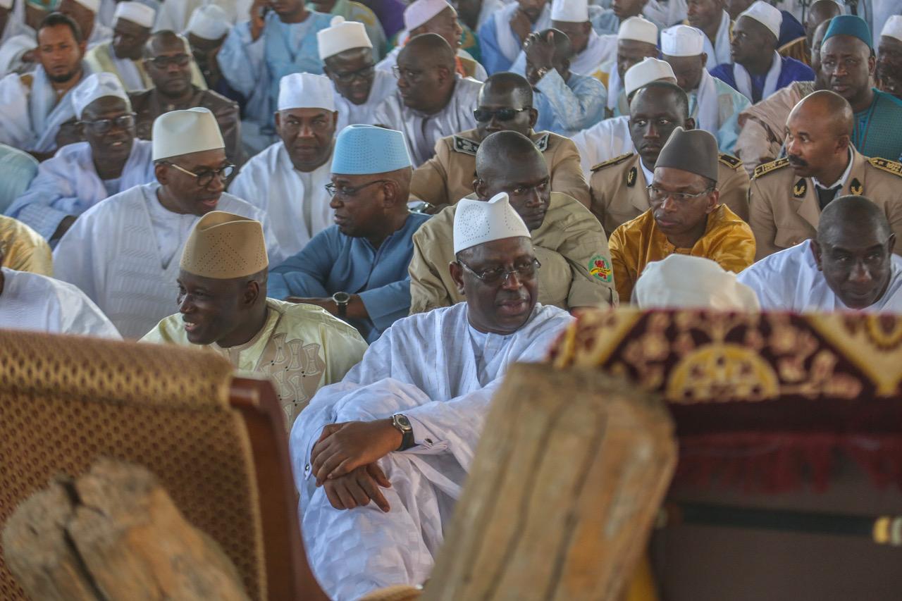 """PHOTOS - En images, les étapes de la visite de Macky Sall au """"Daaka"""" de Médina Gounass"""