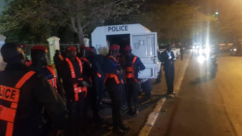 Des opérations de désencombrent en cours en centre-ville dakarois