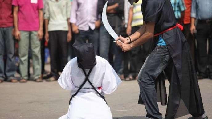 Arabie Saoudite:  37 personnes décapitées après avoir été condamnées...