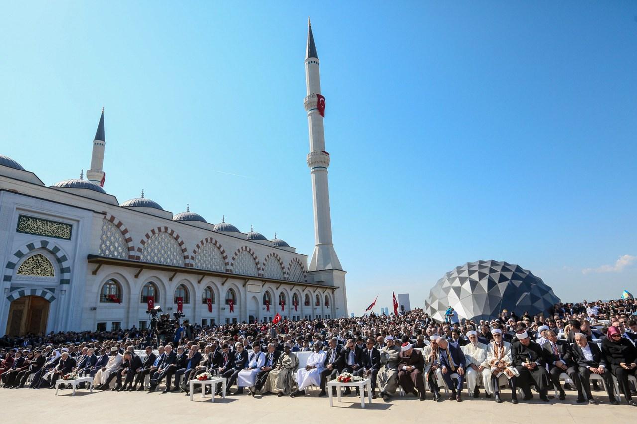 Macky Sall à l'Inauguration de la Mosquée Camlica à Istanbul 🇸🇳🇹🇷
