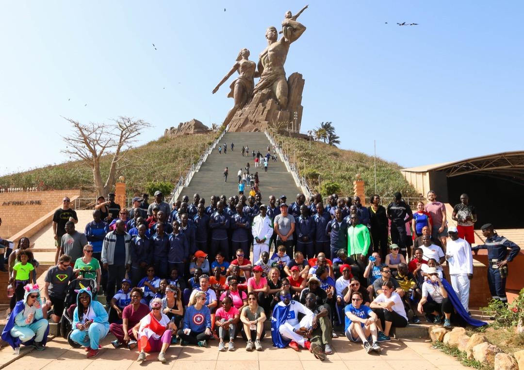 ''Fun Run'' : les employés de l'ambassade des Etats-Unis soutiennent les femmes dans les forces de l'ordre du Sénégal