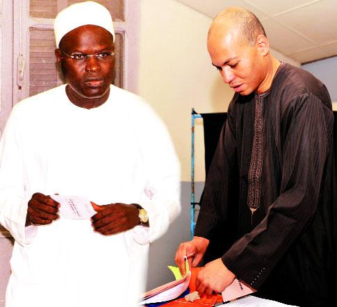 Dialogue politique: Karim Wade et Khalifa Sall bientôt amnistiés