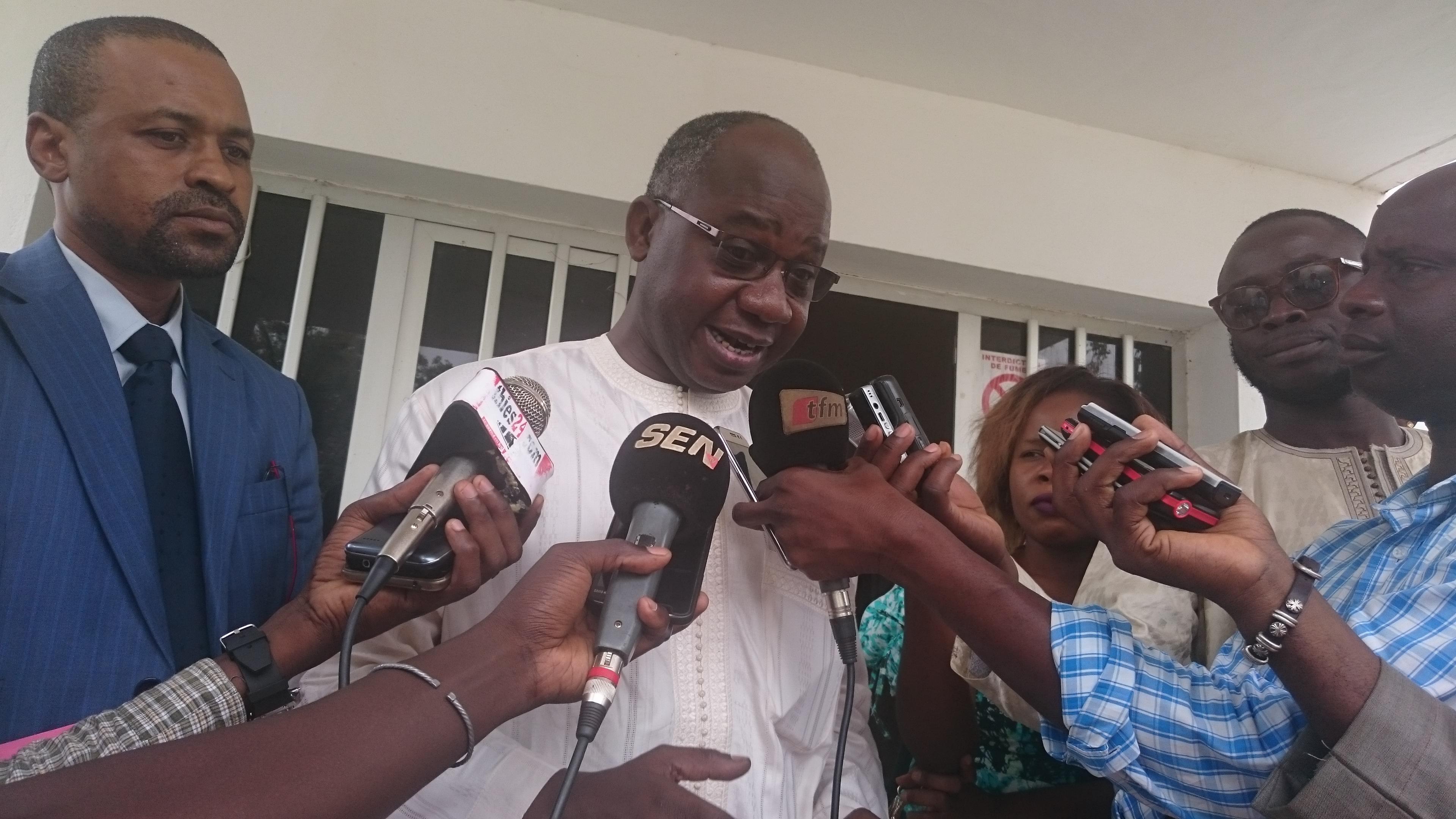 """Dr Malick Ndiaye, MCR: La grève de 2018 a perturbé les services de la Santé de la mère et de l'enfant à Thiès"""""""