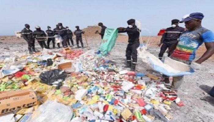 Touba : 2356 produits impropres à la consommation saisis en 2 jours