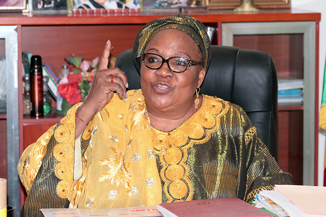 Aida Sow Diawara, PS: « une minorité critique la reconduction des deux ministres »