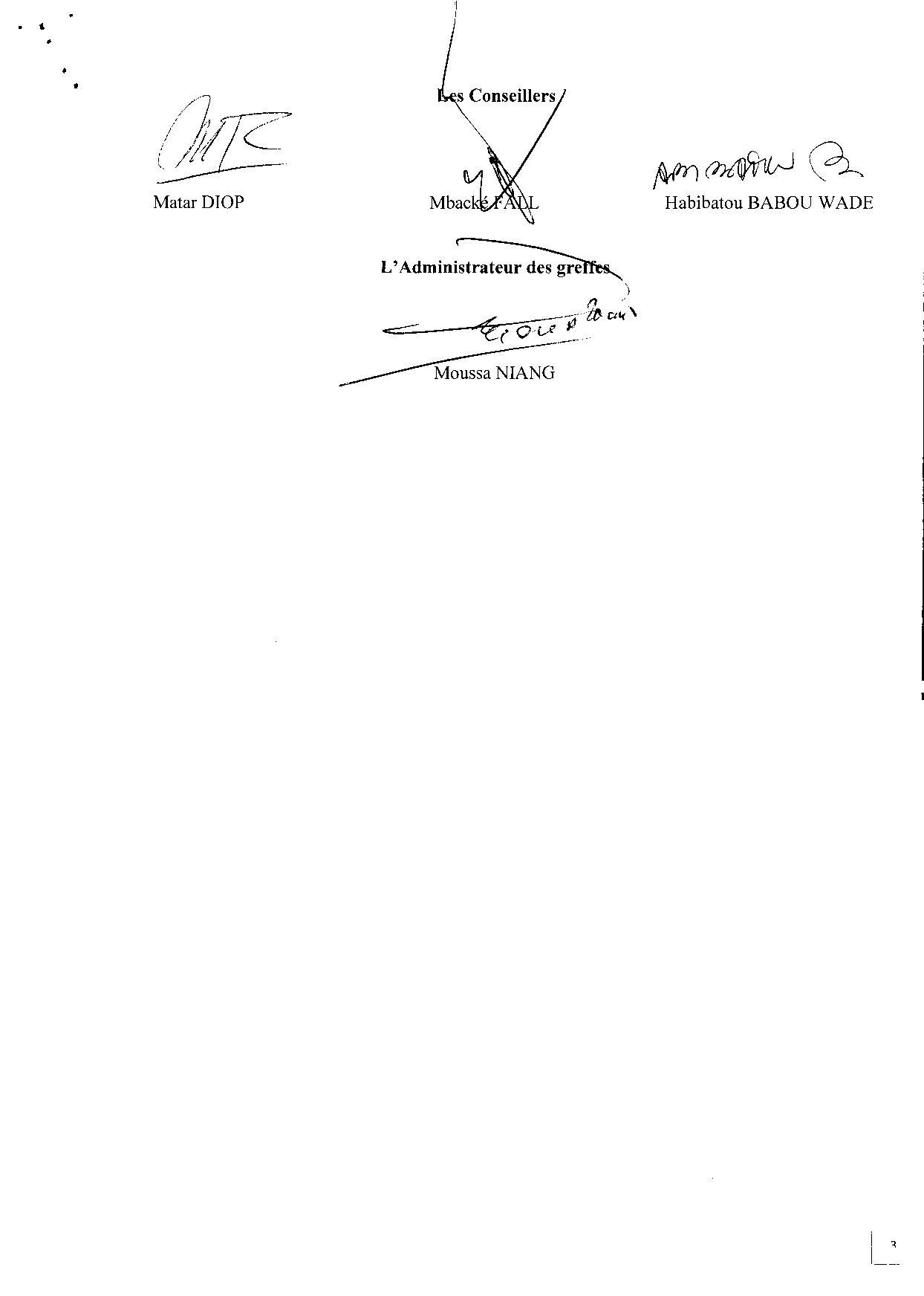 Cour suprême: Le recours de l'homme d'affaires Mbaye Faye contre l'ARMP rejeté