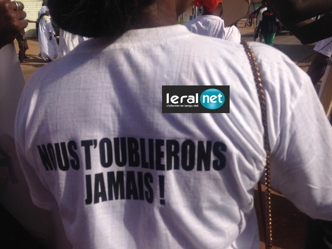 PHOTOS INEDITES - Tambacounda: Marche des jeunes pour dénoncer la mort de Bineta Camara