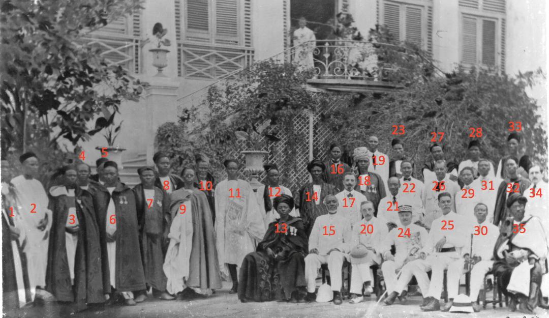 Le Conseil colonial en 1922 à Saint-Louis