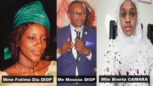 Me Moussa Diop : «mon épouse Fatima DIA a été assassinée presque dans les mêmes conditions que feue Bineta CAMARA »