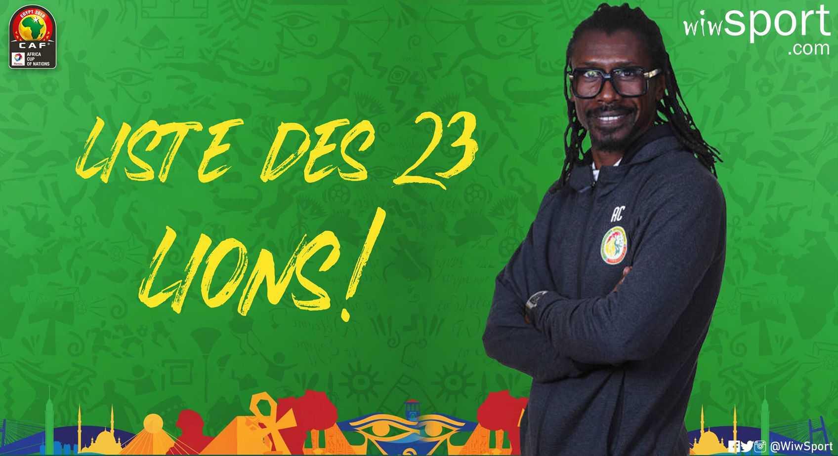Exclu- CAN 2019: Liste des 23 joueurs, le cas Kara Mbodj, la génération 2002, Amdy Faye clashe la FSF et dit tout !