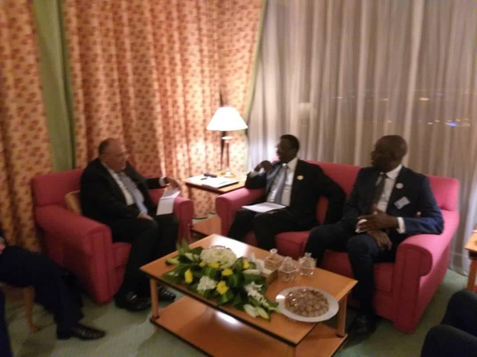Le ministre des Affaires étrangères, Amadou Bâ a rencontré ses homologues de l'Arabie Saoudite, de l'Egypte et de la Turquie