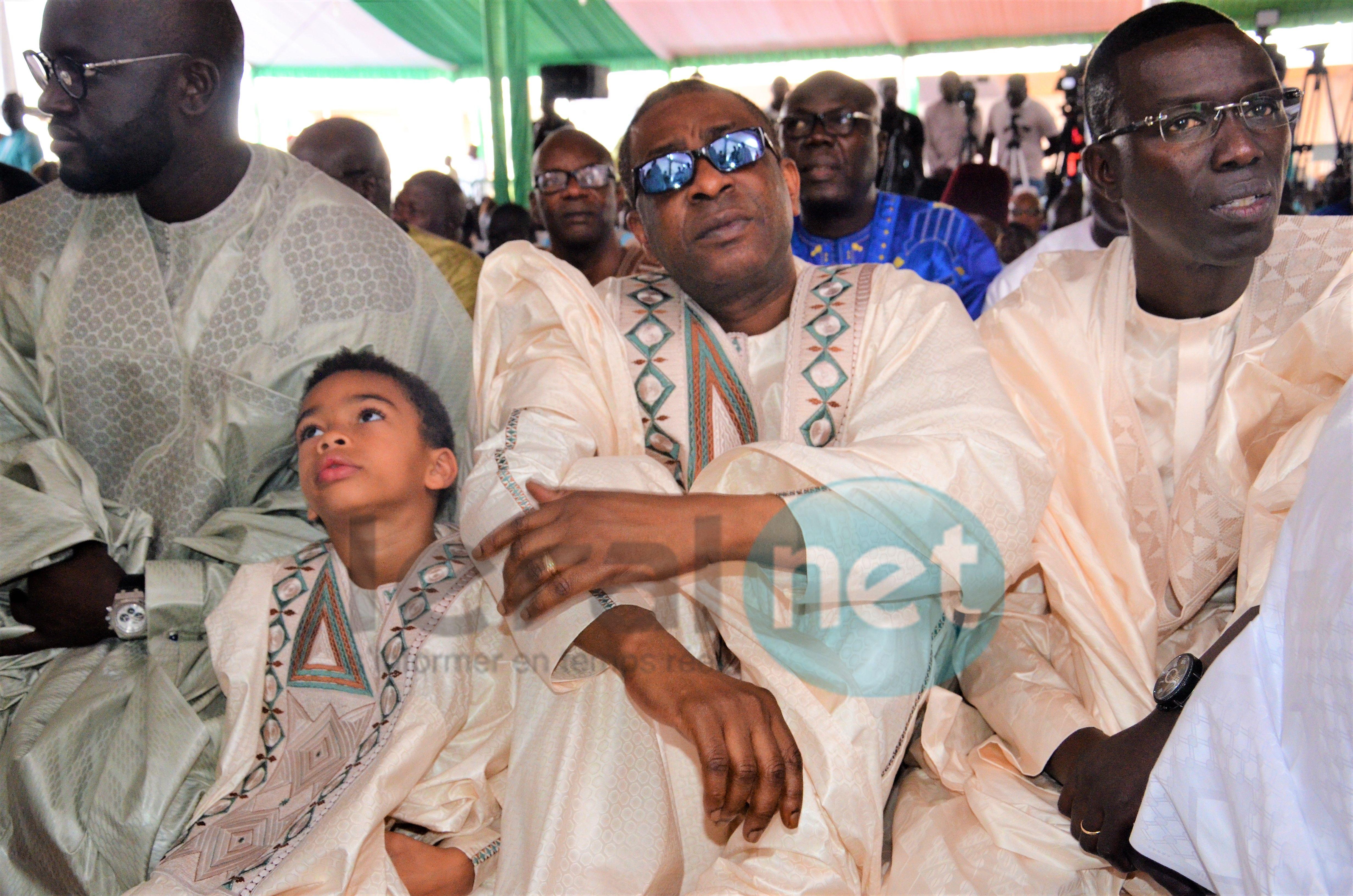 Les images de Youssou Ndour et son fils à Massalikoul Jinane