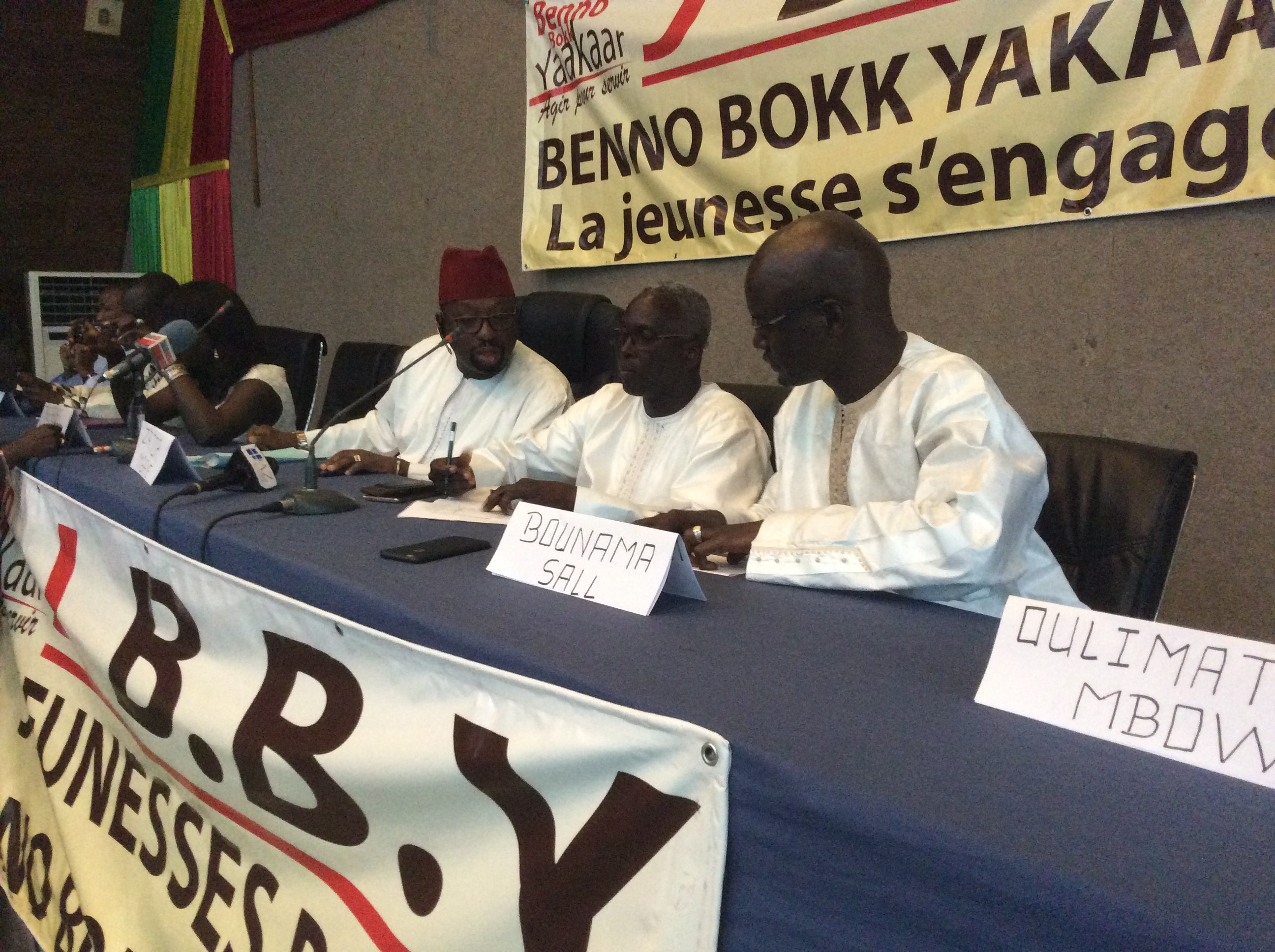Dialogue national: Les représentants du pouvoir et de Benno, connus