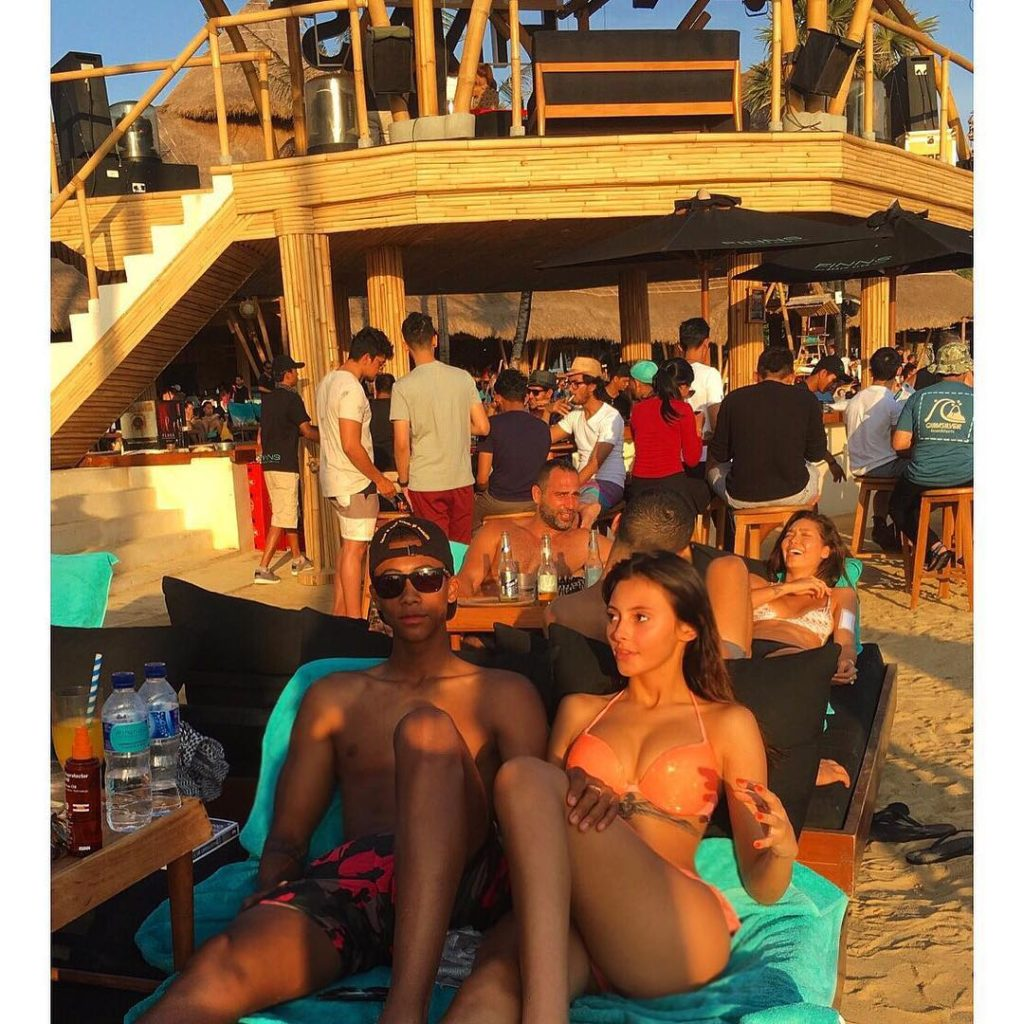 Photos : Noah Fadiga, le fils de Khalilou Fadiga, et sa copine