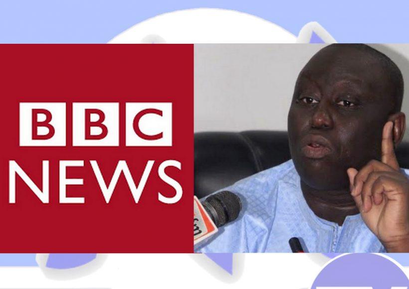 "Affaire Aliou Sall: "" La Lettre du Continent"" descend la BBC"