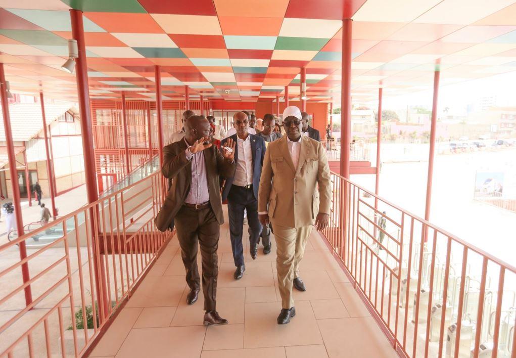 PHOTOS - TER: Visite de chantiers du Président Macky SALL