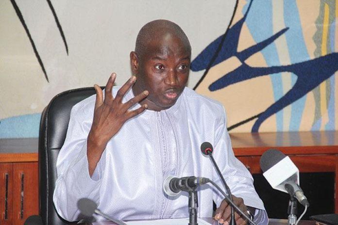 """Aly Ngouille Ndiaye à l'UE: """"Un abandon éventuel du parrainage sera le fait du peuple sénégalais souverain"""""""
