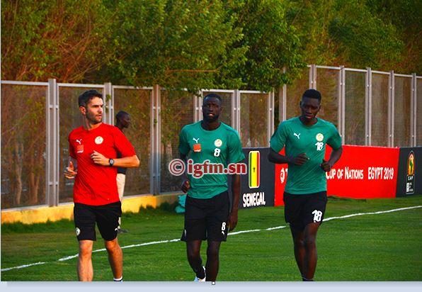 CAN 2019 - Sénégal - Algérie: Ismaïla SARR et Gana GUEYE risquent le forfait